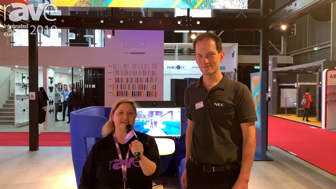ISE 2019: Sara Abrons Gets a Booth Tour at NEC Display from Thomas Walters