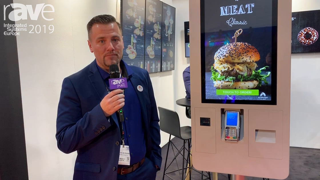 ISE 2019: Acrelec Demos ADDIE Kiosk for QSR Applications, Used by Burger King
