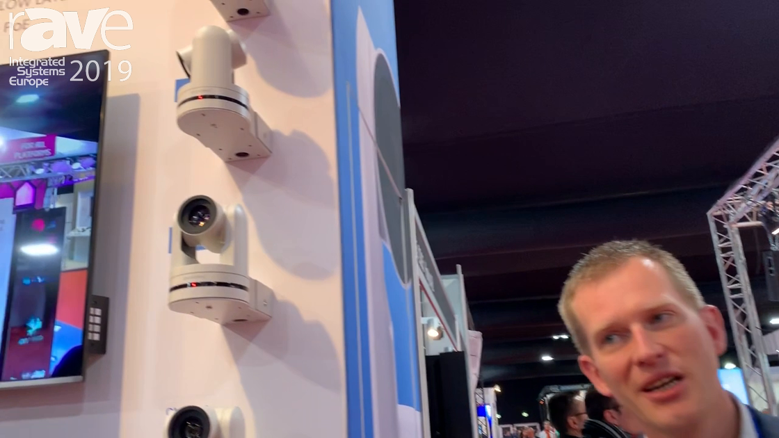 ISE 2019: Avonic Debuts CM70 PTZ Camera Series