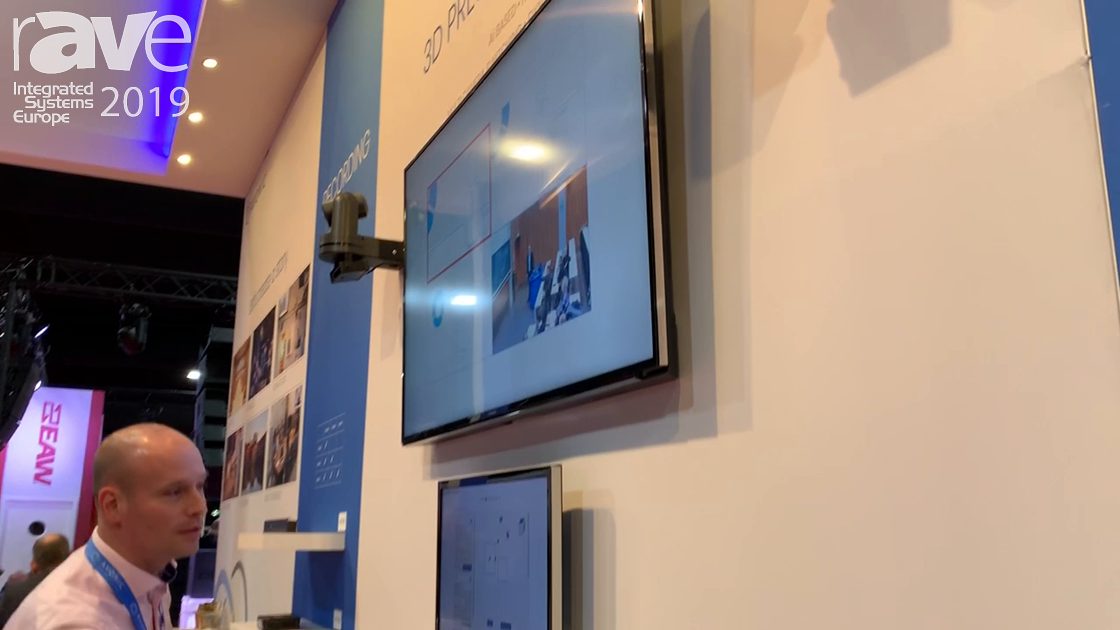 ISE 2019: Avonic Showcases TREX 3D Presenter Tracking Solution