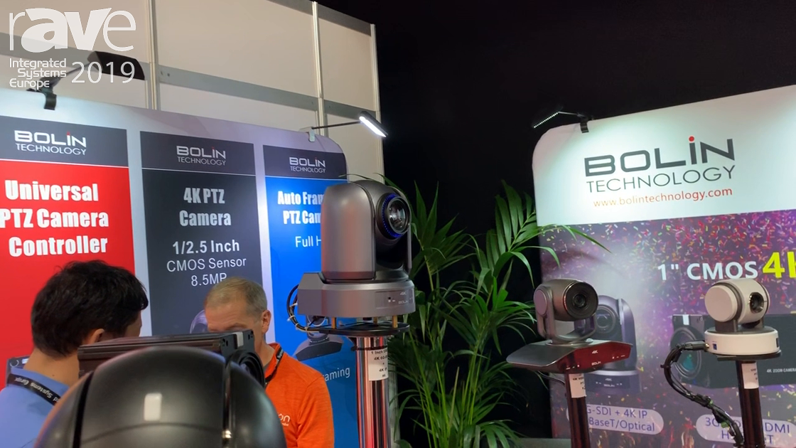 ISE 2019: Bolin Technology Debuts 1″ CMOS 9 Series PTZ Camera