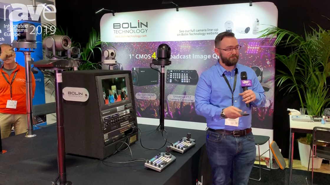 ISE 2019: Bolin Technology Talks About Auto Framing PTZ Conferencing Camera