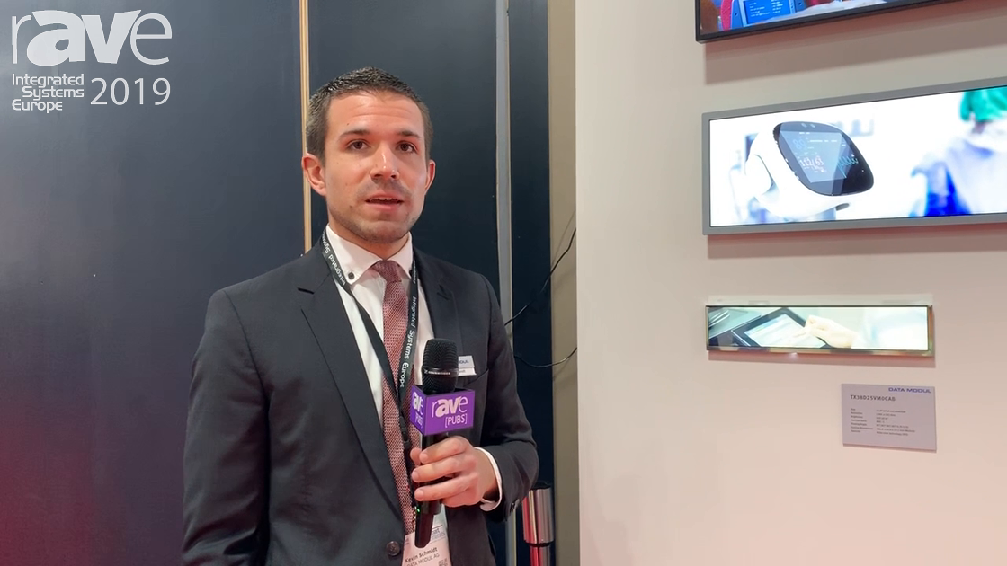 ISE 2019: Data Modul Makes Custom Stretch Screen Displays for Digital Signage