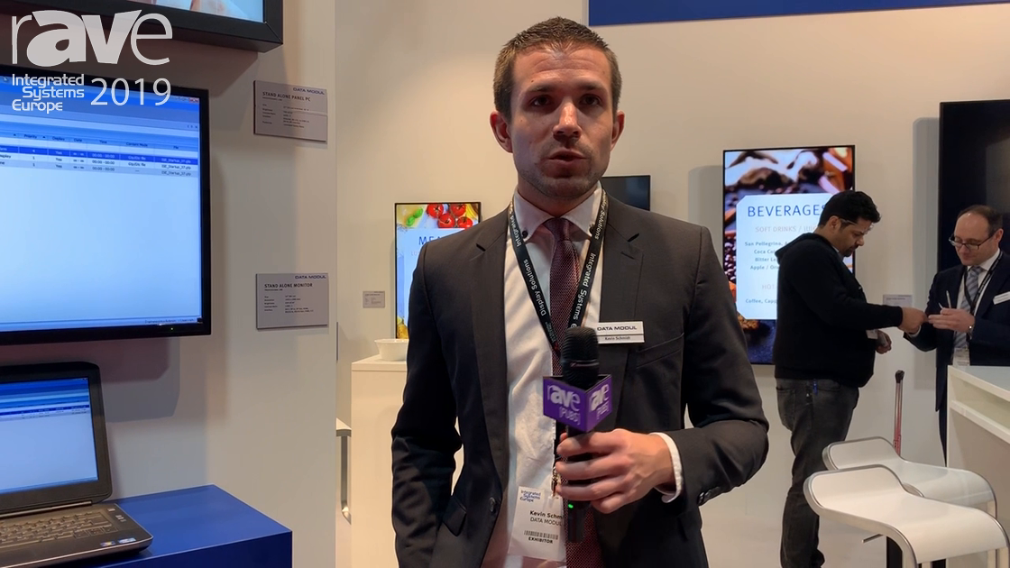 ISE 2019: Data Modul Demos Content Management Software for Unique Stretch Digital Signage Displays