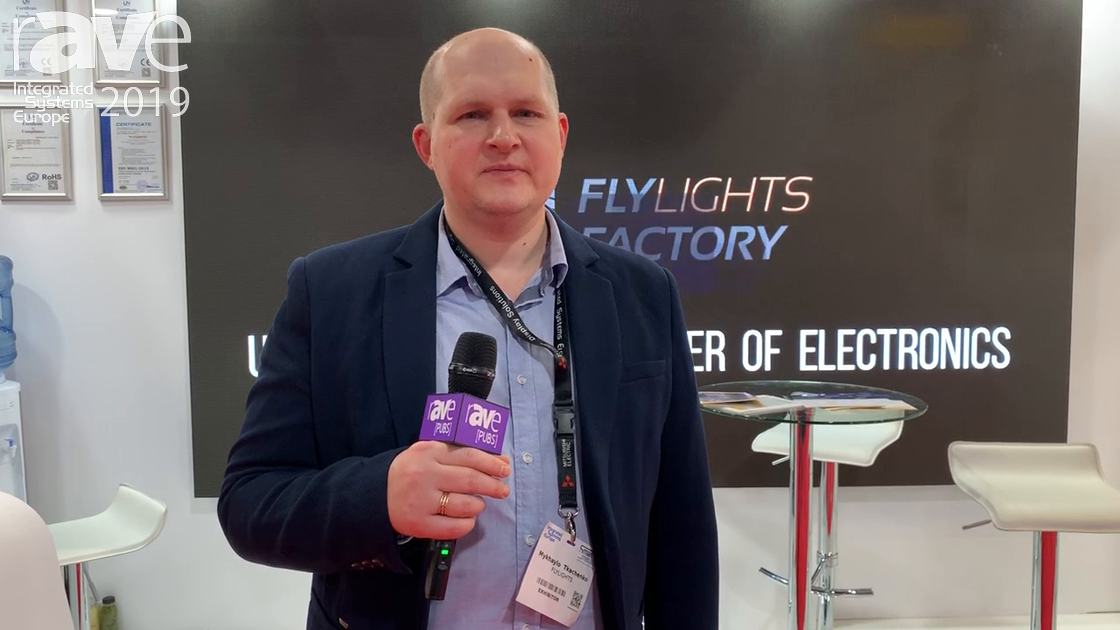 ISE 2019: Flyflights Factory Develops LED Modules and Displays, Talks ISE Focus