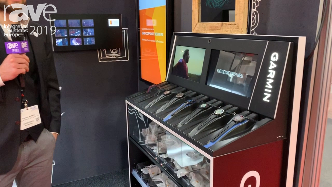 ISE 2019: Iltis & Wiesel and Isaria Show Off Garmin Retail Display