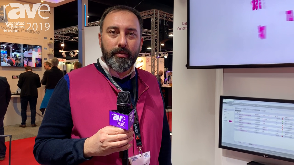 ISE 2019: Innova Talks Digital Signage Solutions Such as DS Suite Content Management Solution
