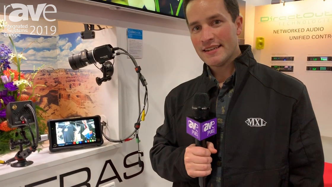 ISE 2019: Marshall Showcases the 4K@30 CV380-CS POV Camera