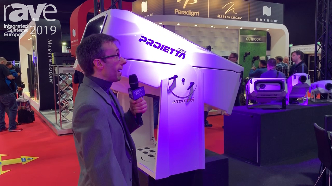 ISE 2019: Proietta Shows Off Large Outdoor Projector Housing