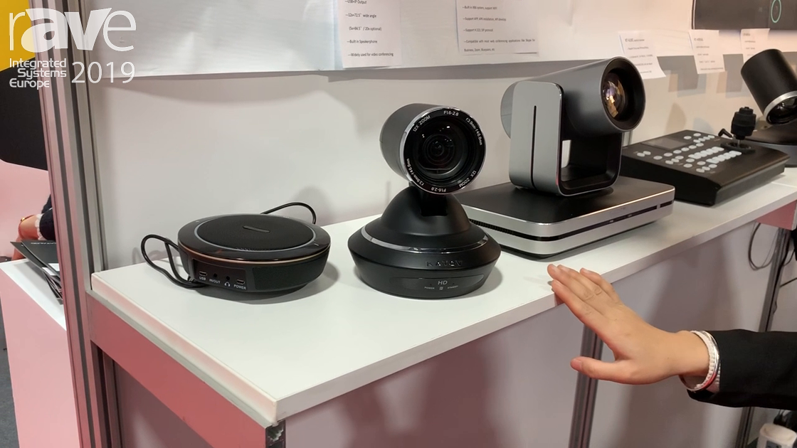 ISE 2019: Shenzhen JinJiuTianShi Industry Co. Presents Its KT-HD92R Videoconferencing Camera