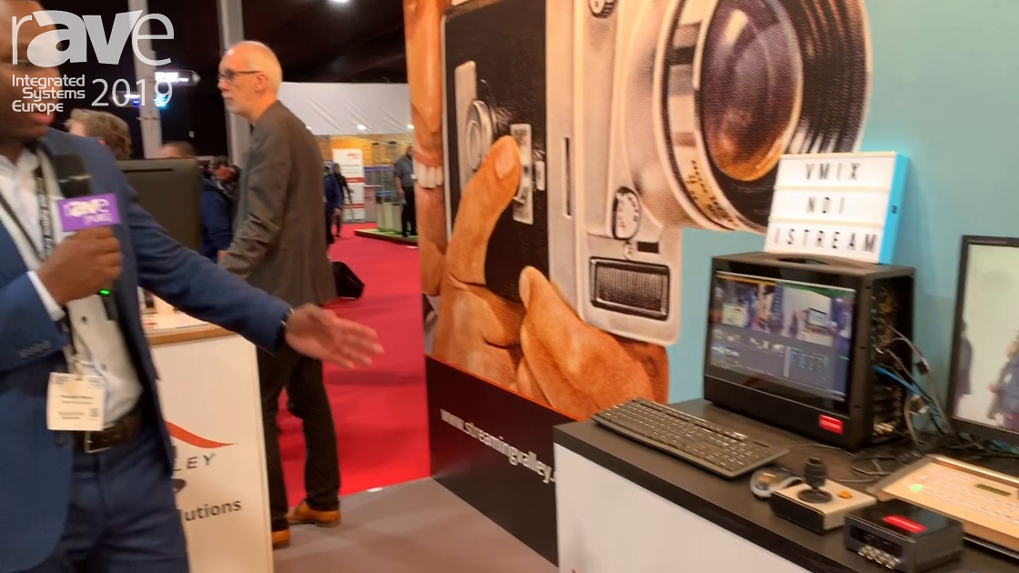 ISE 2019: Streaming Valley Exhibits iStream Recording Solution
