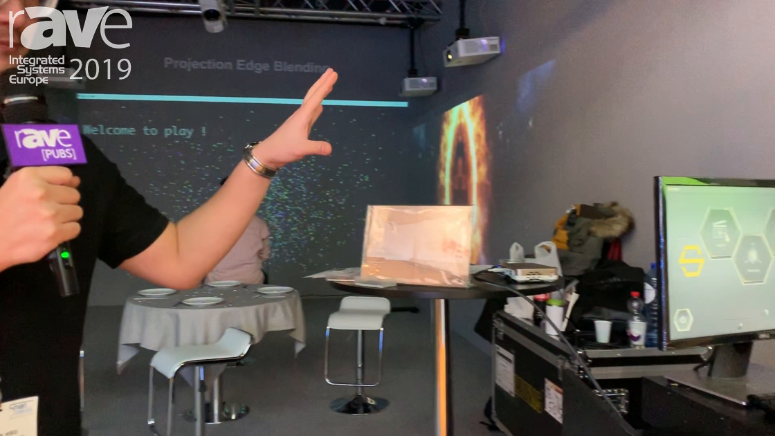 ISE 2019: Bruvis Showcases Media Server for 3D Projection Mapping Solution