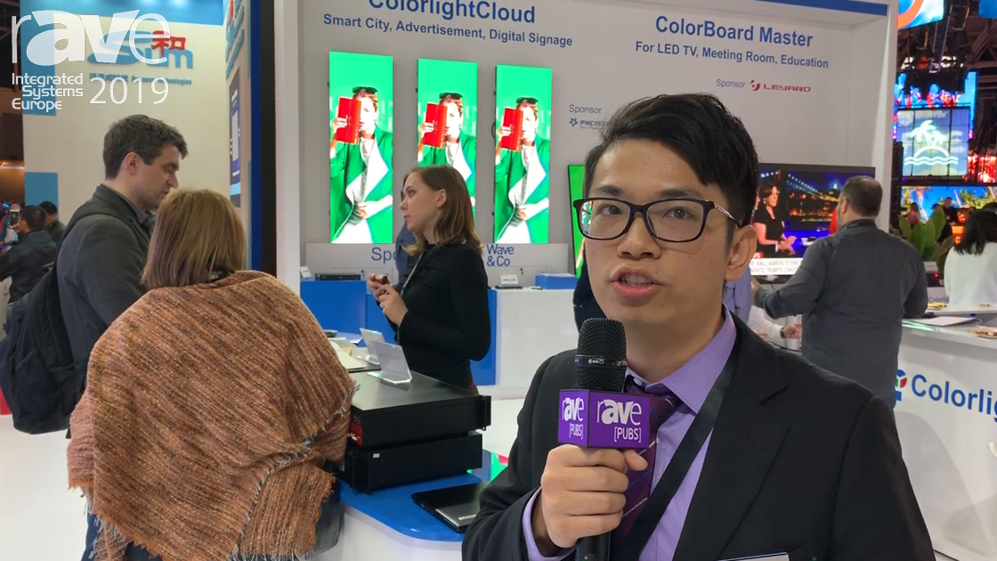 ISE 2019: Colorlight Shows Expert Video System (EVS) for 8K HDR@3D with 12G SDI With Low Latency