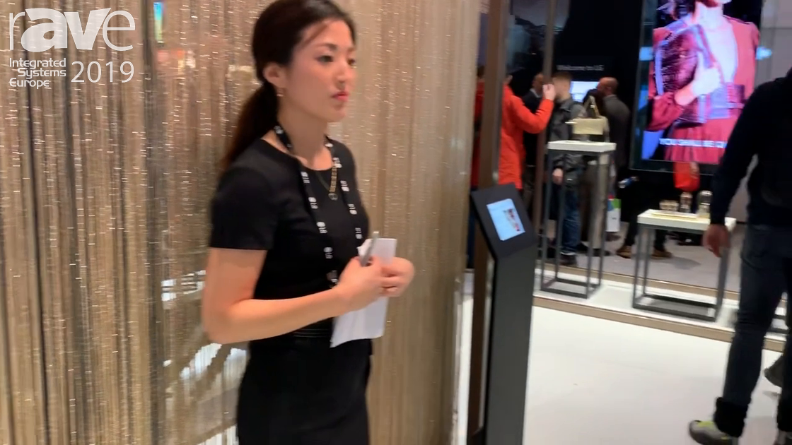 ISE 2019: LG Exhibits Transparent OLED Display for Retail Applications