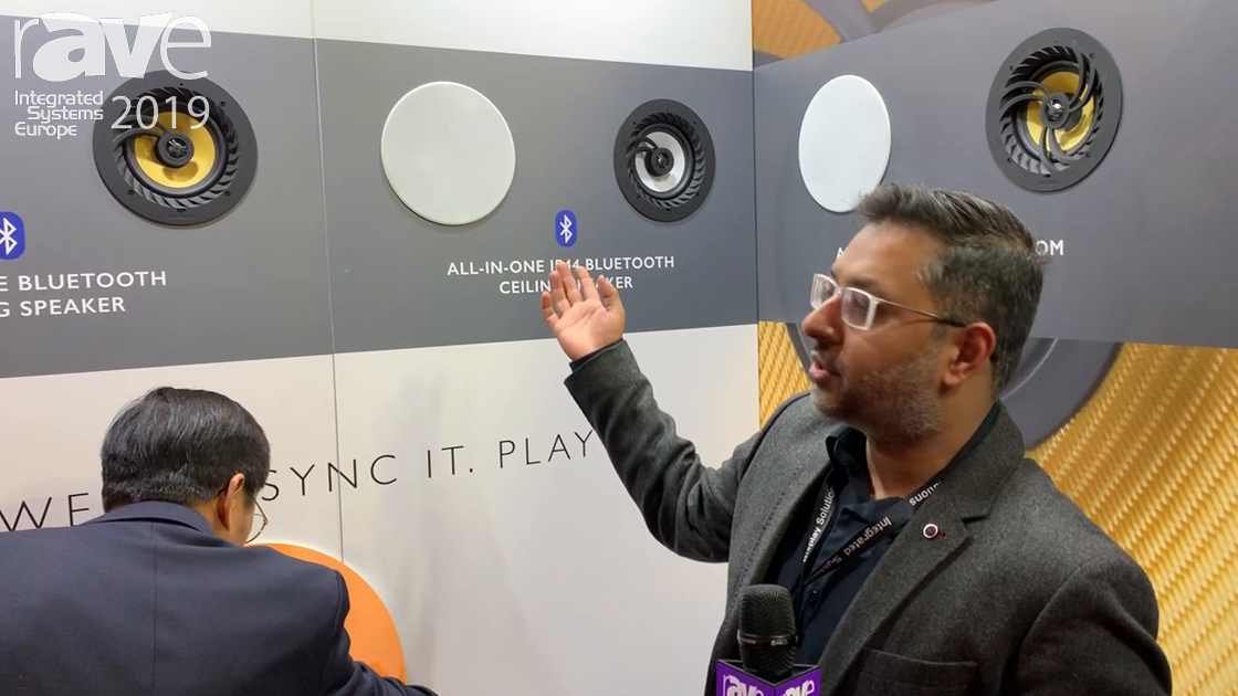 ISE 2019: Lithe Audio Showcases All-in-One IP44 Bluetooth Ceiling Speaker