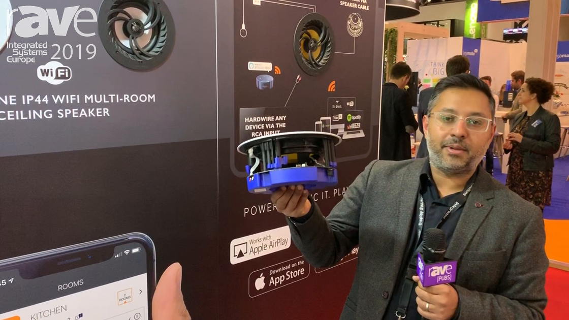 ISE 2019: Lithe Audio Talks About All-in-One Wi-Fi Ceiling Speaker With Built-in Amplifier