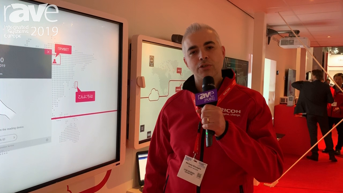 ISE 2019: Ricoh Debuts Smooth Collaboration Service With Artificial Intelligence Capabilities