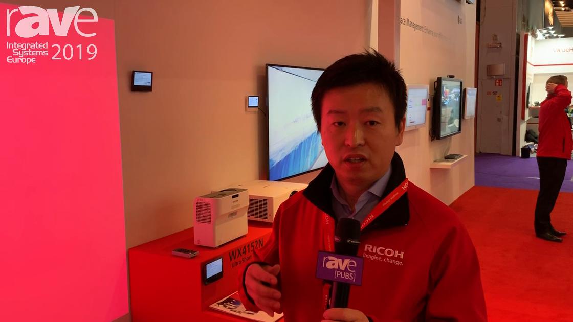 ISE 2019: Ricoh Highlights Its PJ WUC4650 4,000-Lumen LED Projector