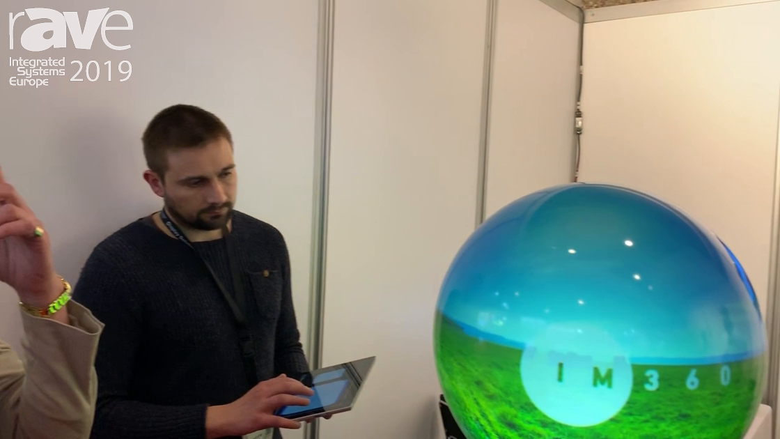 ISE 2019: The Elumenati Shows Immersive Projection Design With Its GeoDome Globe Solution