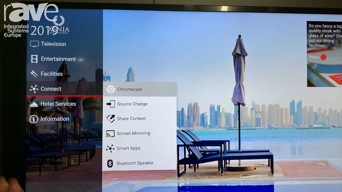 ISE 2019: TriplePlay Shows Xenia IPTV Portal with Google Chromecast Integration