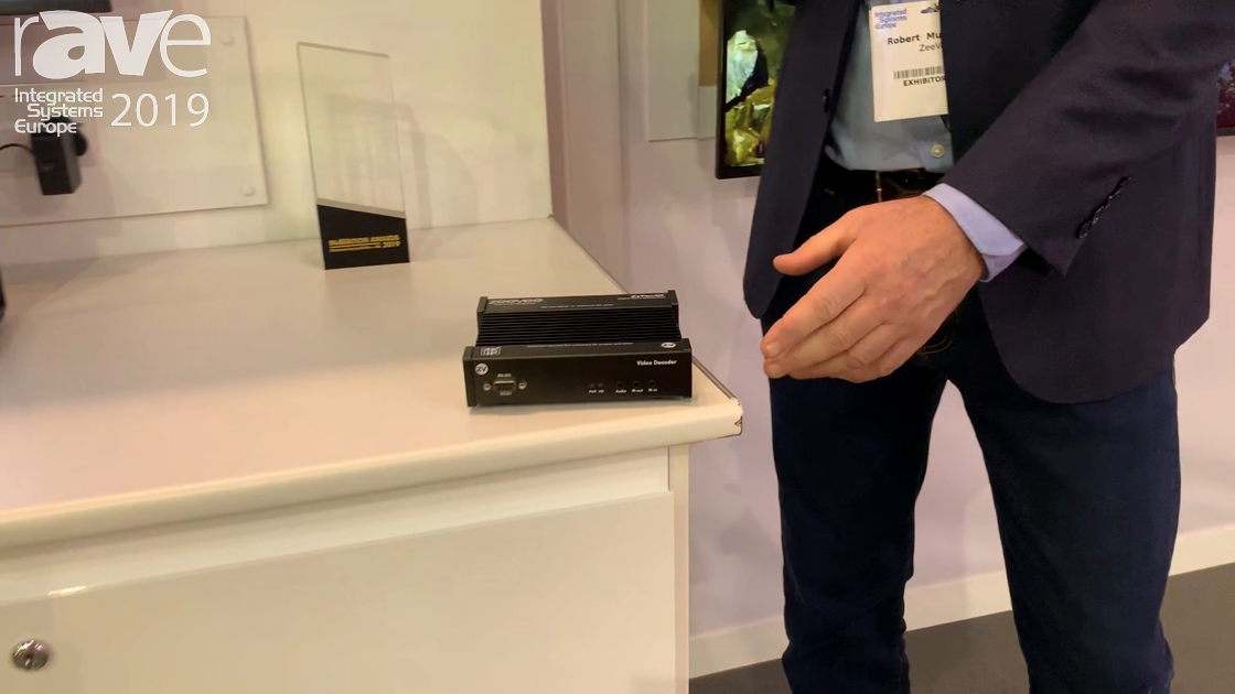 ISE 2019: ZeeVee Features Its 'Silent' 4K Zyper Decoder