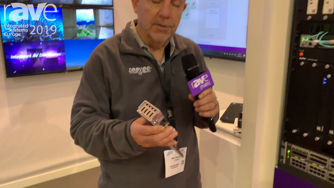 ISE 2019: ZeeVee Unveils Its Direct HDMI Module Input to Standard NETGEAR Ethernet Switch