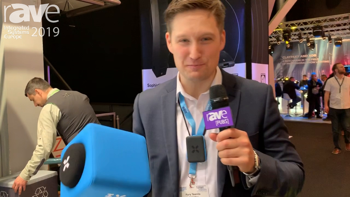 ISE 2019: Catchbox Previews Catchbox Lite Throwable Microphone for Audience Engagement
