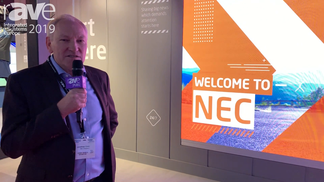 ISE 2019: NEC Display Debuts Fine Pitch Advanced FA Product Range of LED Displays