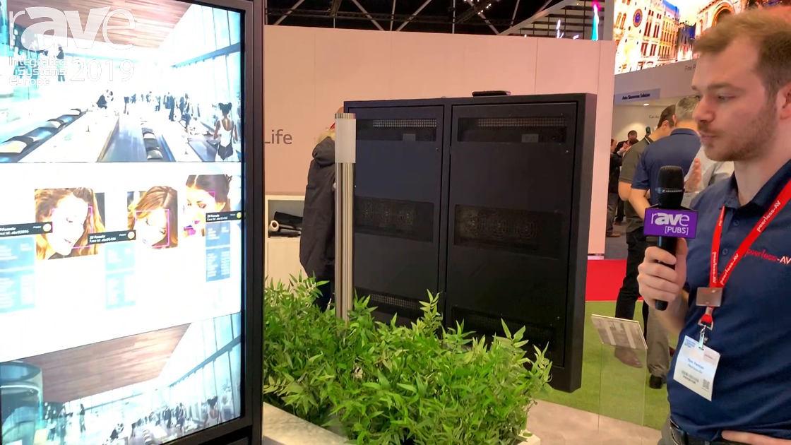 ISE 2019: Peerless-AV Shows KOP255B-XHB-EUK Smart City Kiosk in Back-to-Back Application With Touch