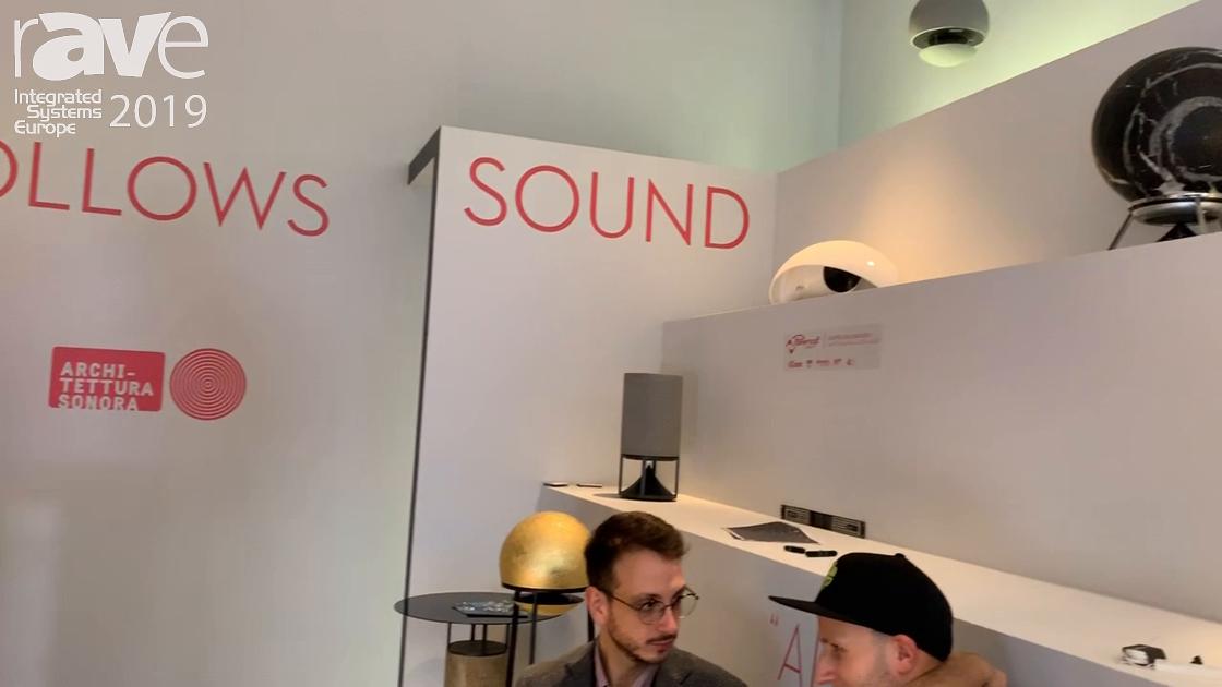 ISE 2019: Architettura Sonora Talks About Sphere 360 Omnidirectional Loudspeaker