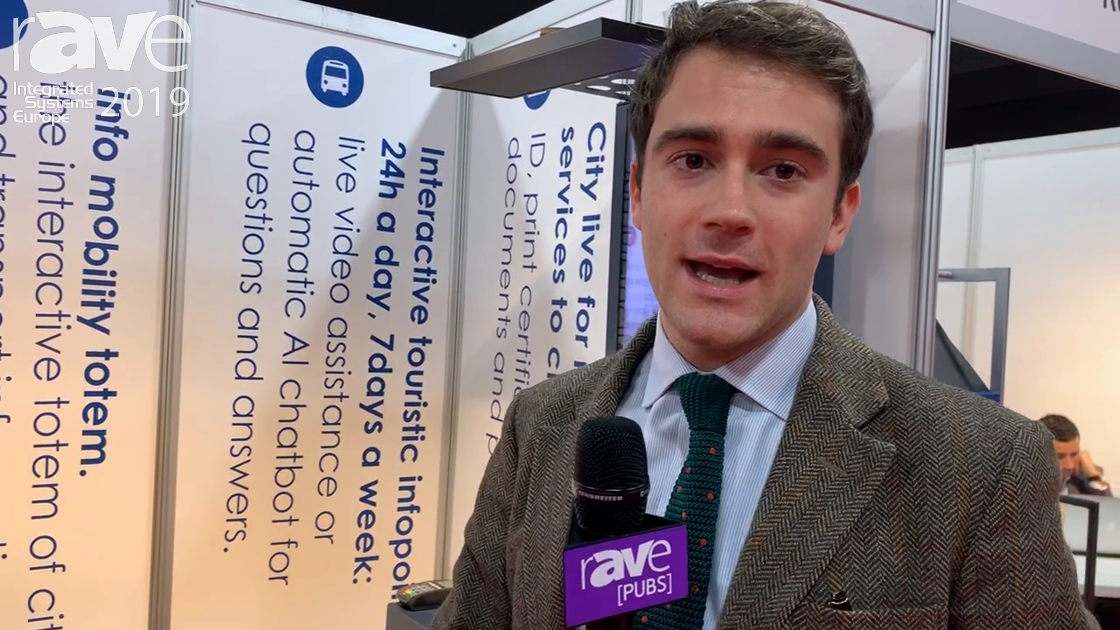 ISE 2019: BBS Features Citylive Interactive Totem