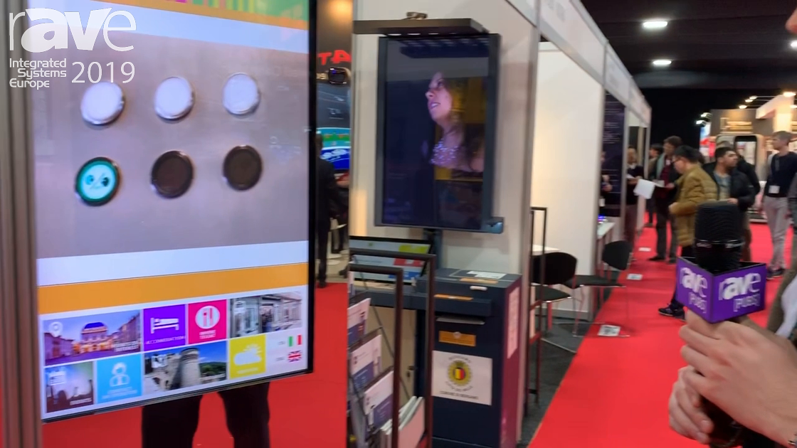 ISE 2019: BBS Talks About Interactive Totem Display for Digital Signage