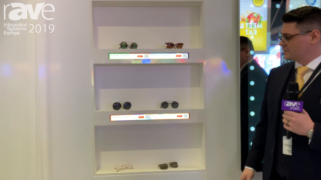 ISE 2019: Allsee Showcases LCD Shelf Edge and Stretched Displays