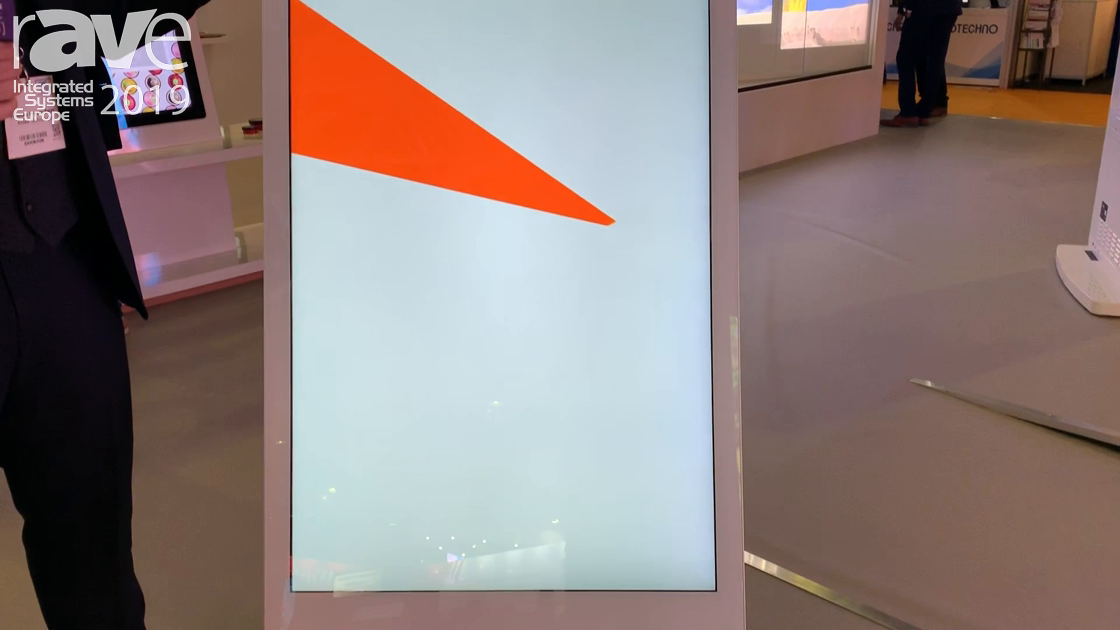 ISE 2019: Allsee Talks 49″ Battery-Powered A Board Display With Ambient Light Sensor for DS