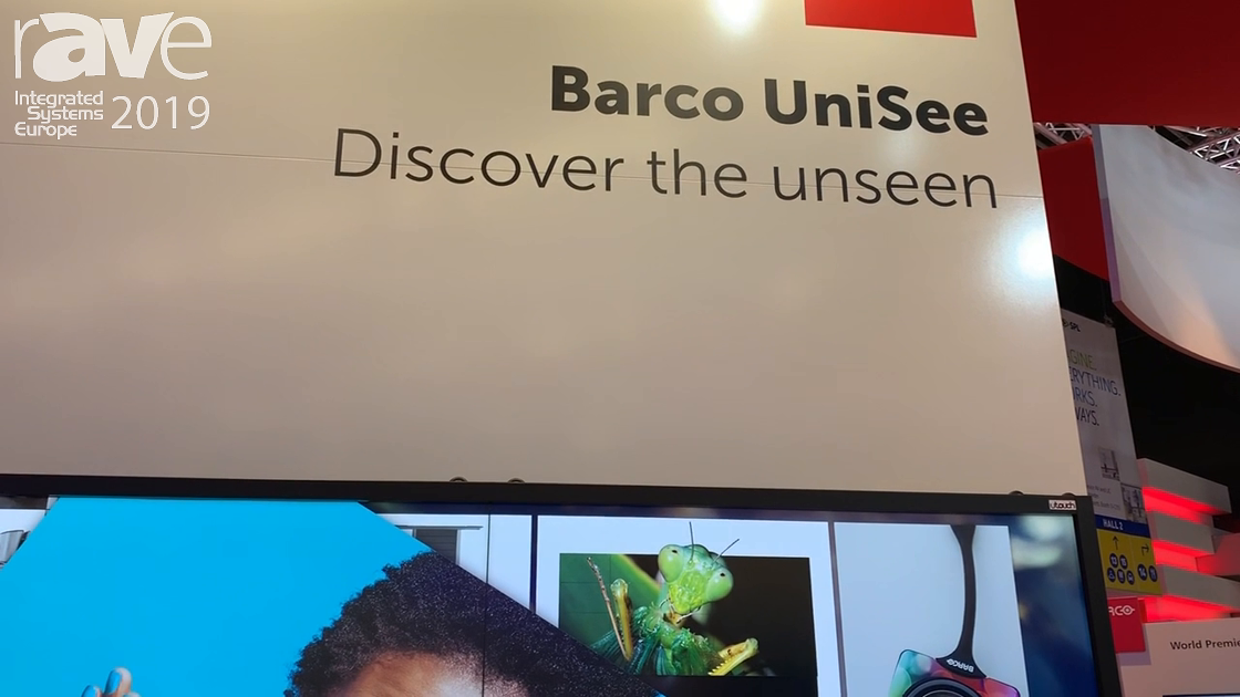 ISE 2019: COMM-TEC Offers Barco UniSee With Touch Overlay from U-Touch