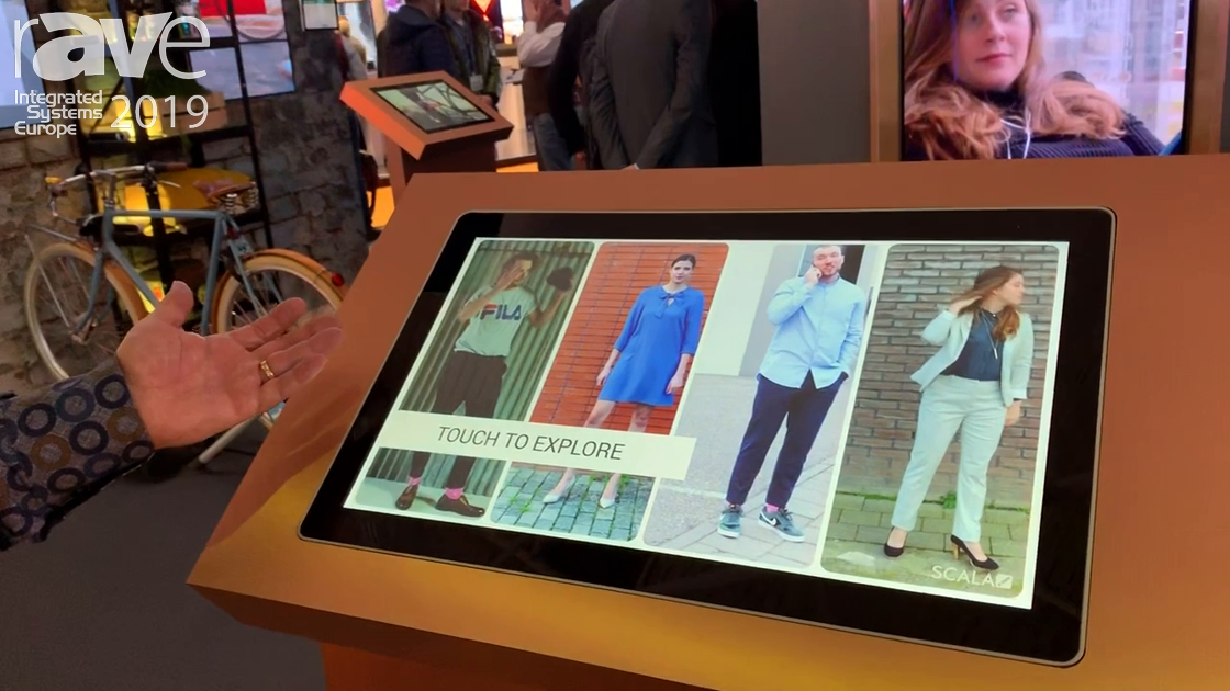 ISE 2019: Scala Demos Interactive Retail Digital Signage Application, With 360-Degree Experience