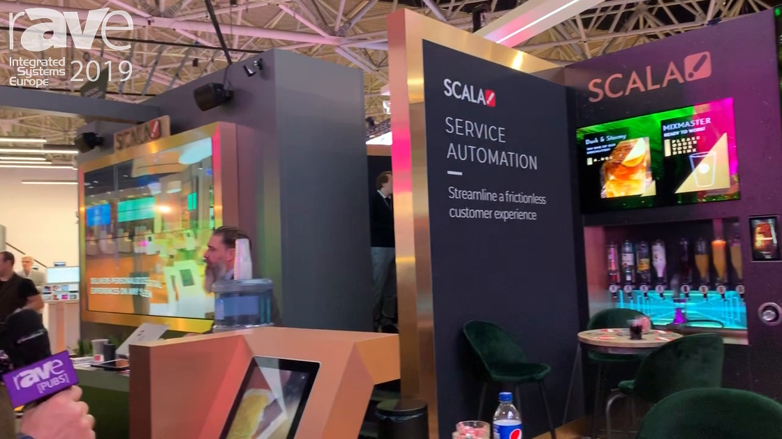 ISE 2019: Scala Demos Bars/Hospitality Custom Solution in Cocktail Mixing Application