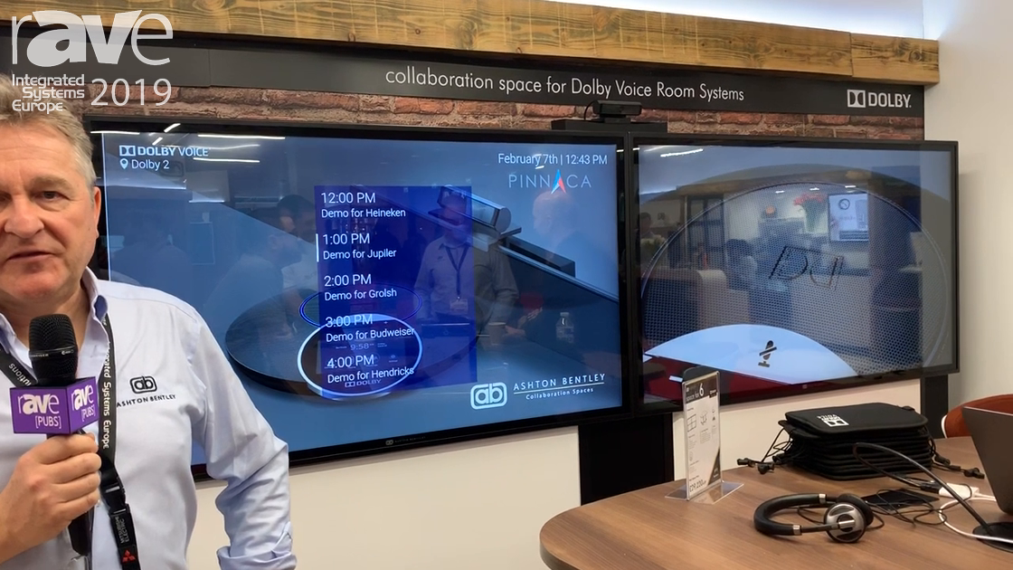 ISE 2019: Ashton Bentley Shows Off a Collaboration Space Using New Dolby Conference Phone