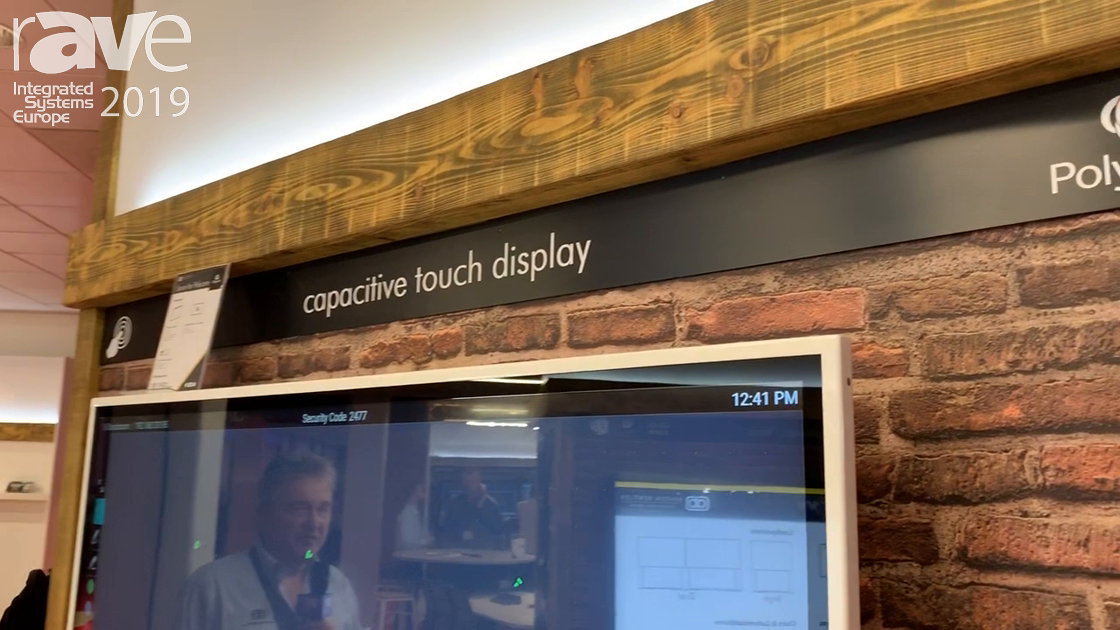 ISE 2019: Ashton Bentley Shows Polycom Collaboration Huddle Space With Pano
