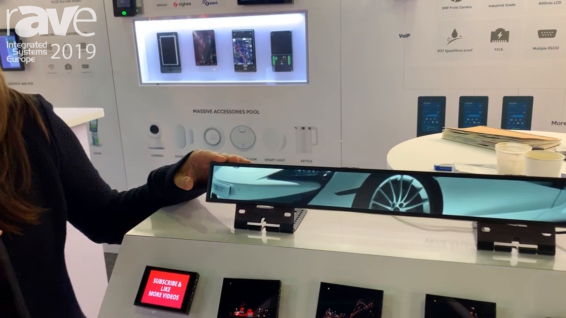 ISE 2019: Glory Star Group Unveils Its LCD Smart Shelf Strip for Retail Applications