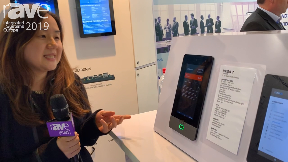 ISE 2019: Glory Star Group Highlights th Vega 7 and Vega 10 Tablets for Smart Home and Intercom Use