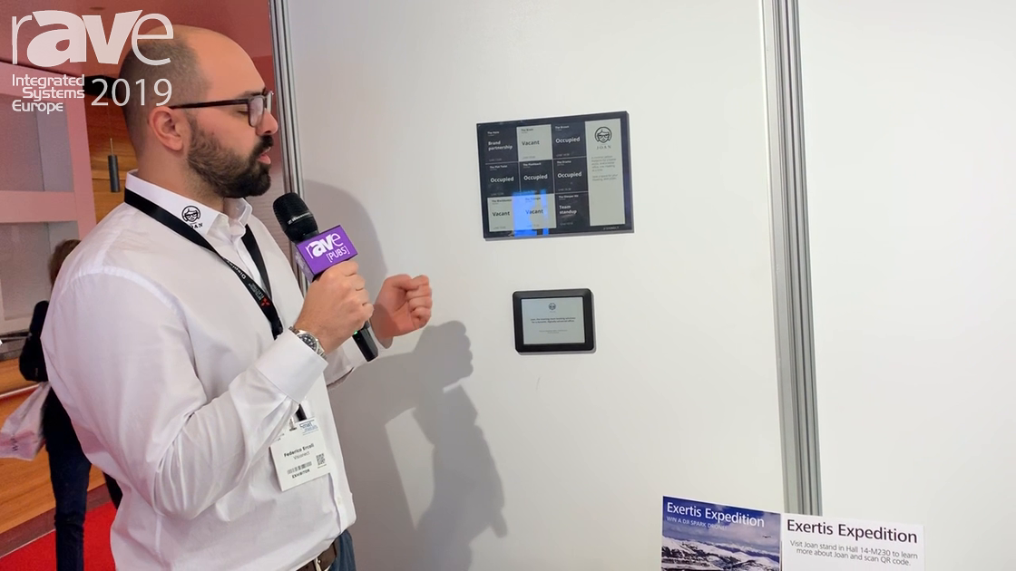 ISE 2019: JOAN Talks E-Ink Room Booking Systems for Meeting Rooms and Huddle Spaces