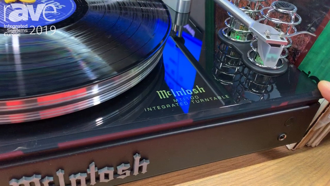 ISE 2019: McIntosh Laboratory Intros IMT100 Integrated Turntable, Amp, Pre-Amp, Bluetooth Receiver