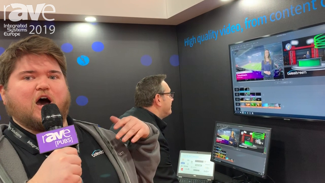 ISE 2019: Telestream Features End To End Video Solution, WireCast Gear for Live Streaming Production