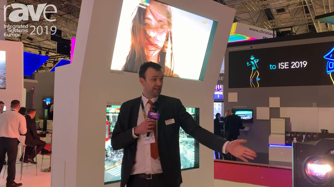 ISE 2019: Digital Projection Updates Insight 8K 3-Chip DLP Laser Projector, Now at 36,000 Lumens