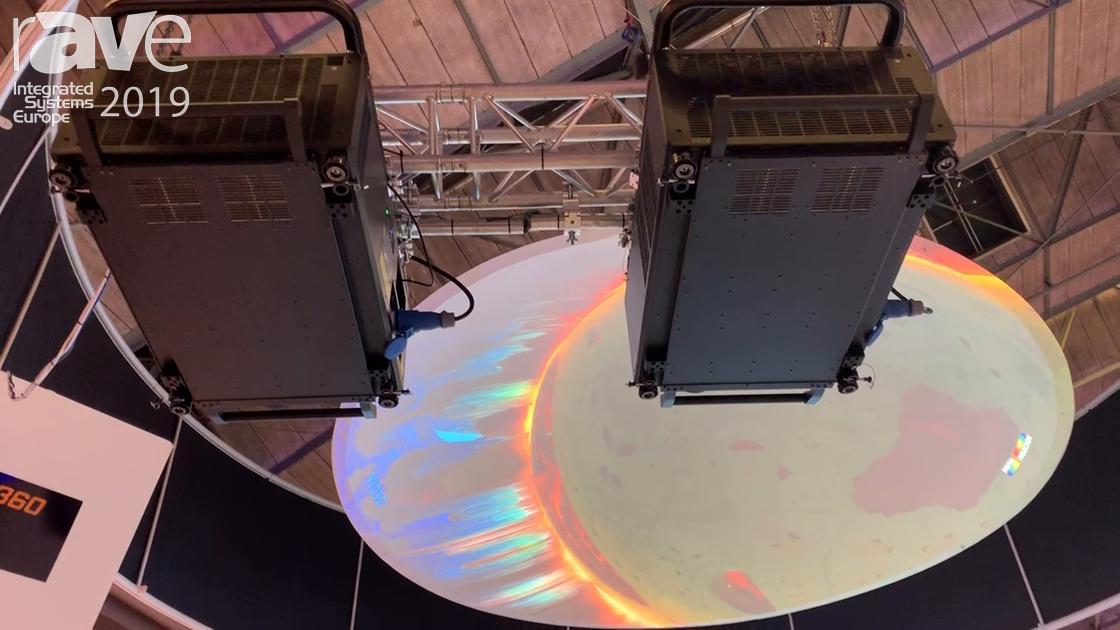 ISE 2019: Digital Projection Features Titan 4K 3-Chip DLP 37,000-Lumen Laser Projector