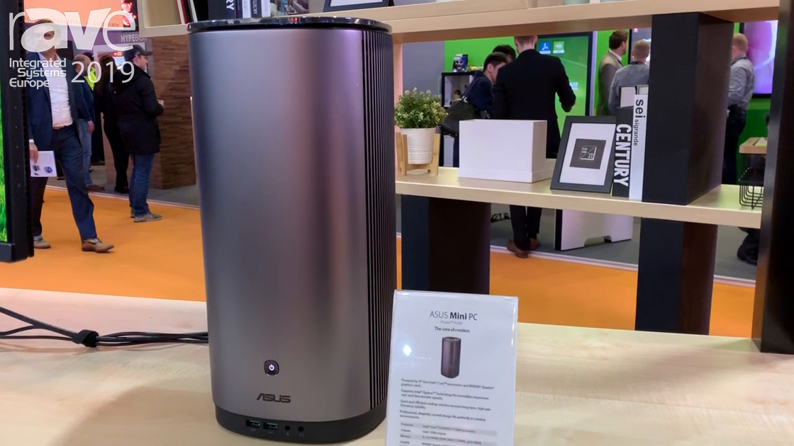 ISE 2019: ASUS Features a Mini PC and ProArt PA90 Monitor for Content Creators
