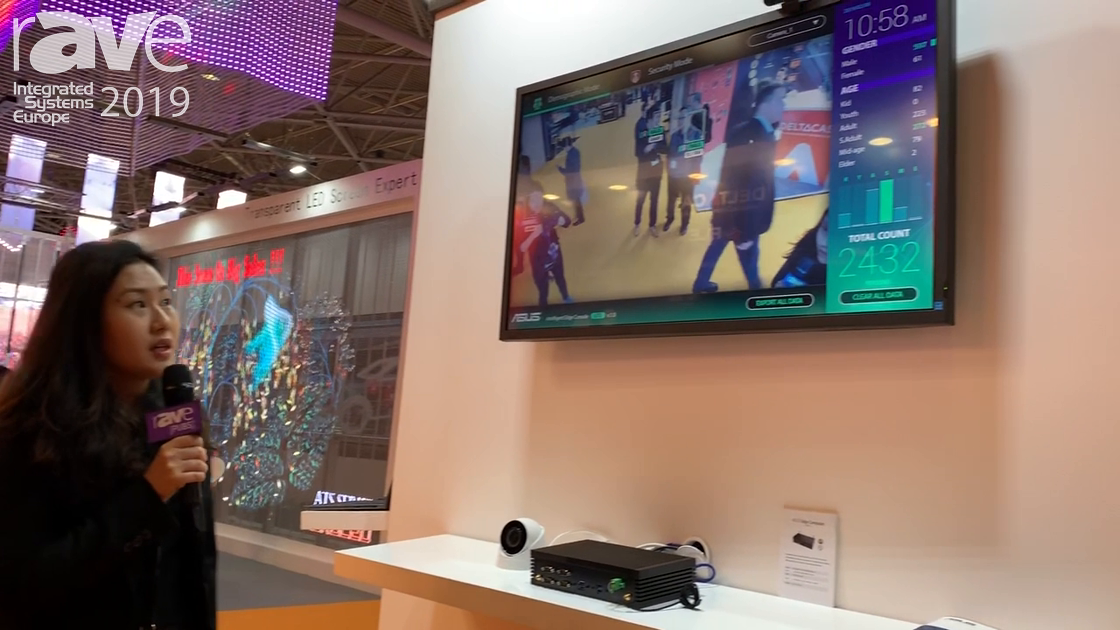 ISE 2019: ASUS Presents Intelligent Edge Console With Crowd Capture Data for Security