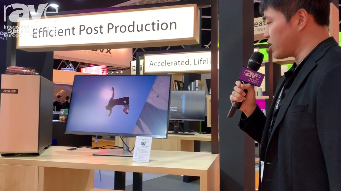 ISE 2019: ASUS Showcases the ProArt Monitor PA32UC