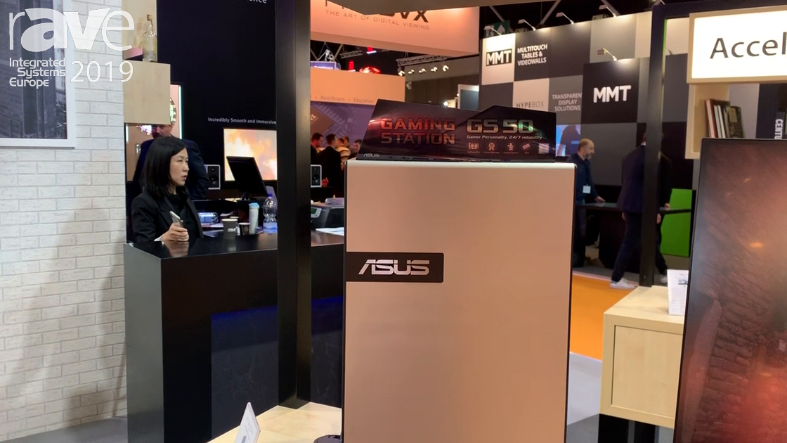 ISE 2019: ASUS Showcases Gaming Station GS50 PC, Built for Gamers and Content Creators